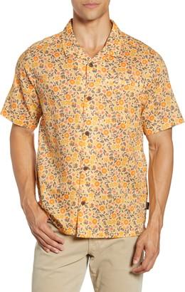 Patagonia Lightweight A/C(R) Regular Fit Print Cotton & Hemp Short Sleeve Shirt