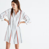 Madewell Tunic Shirtdress in Schulner Stripe