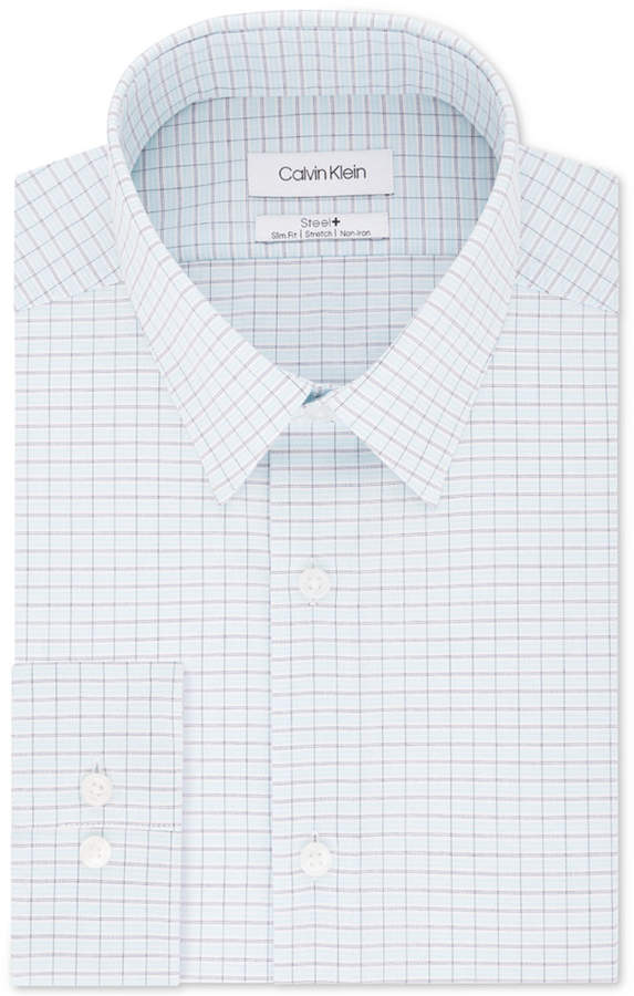 a0cf0992 Calvin Klein Slim Fit Non-iron Shirts - ShopStyle