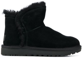 UGG Fluff ankle boots