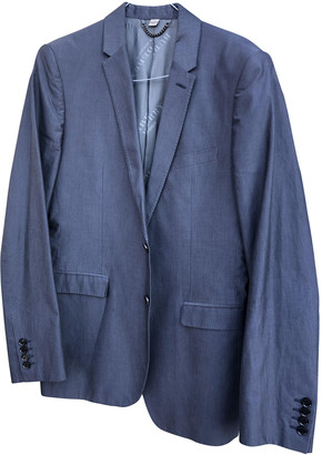 Burberry Grey Cotton Suits