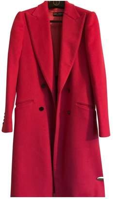 Dolce & Gabbana Pink Wool Coats