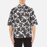 Msgm Floral Short Sleeve Shirt Multi