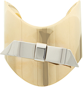 J.W.Anderson Bow gold and palladium-plated cuff