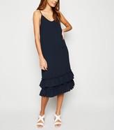 New Look JDY Ruffle Midi Dress