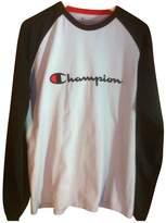 Champion White Cotton Knitwear for Women Vintage