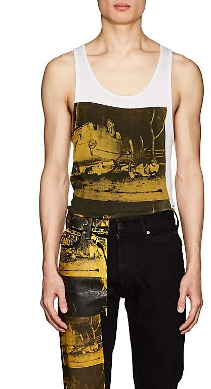 "Calvin Klein Men's ""Crash""-Print Cotton Tank"