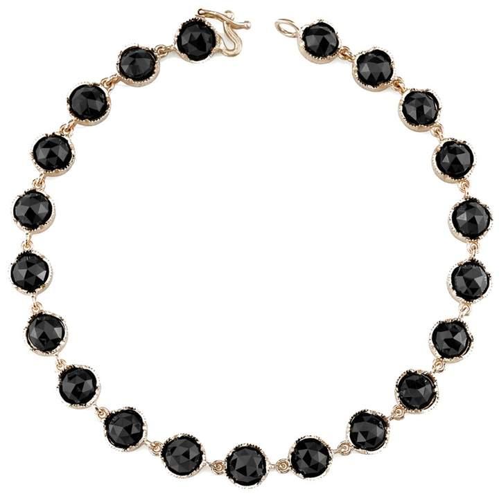 Irene Neuwirth Rose Cut Black Onyx Bracelet - Rose Gold