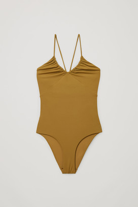 Cos Recycled Nylon Drawstring Swimsuit