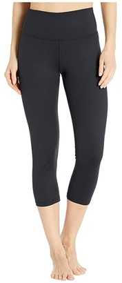 Brooks Greenlight Essential Capris (Black) Women's Casual Pants