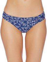 Splendid Women's Deckhouse Geo Reversible Retro Bikini Bottom
