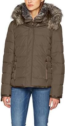 Esprit edc by Women's 087cc1g016 Jacket, Dark Grey 020, Medium