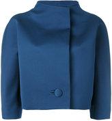 Paule Ka cropped jacket - women - Polyester/Cupro - 40