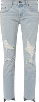 Rag & Bone Dre Capri Marina Jeans