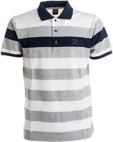 Paul & Shark Fit Striped Polo Shirt