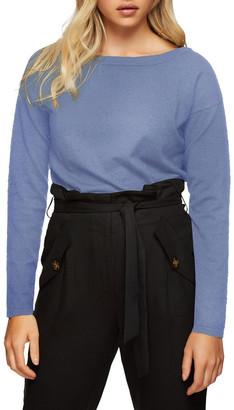 Oxford Gianna Metallic Boatneck Knit