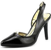 Material Girl Tinker Round Toe Synthetic Slingback Heel.