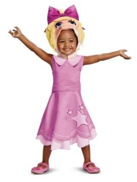 BuySeasons Baby Girls Miss Piggy Classic Costume