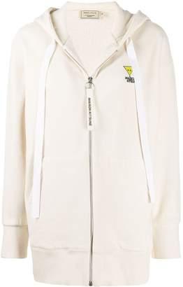 MAISON KITSUNÉ logo patch hoodie