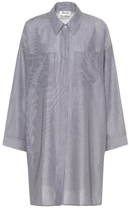 Acne Studios Jacqui striped cotton shirt