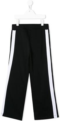 Balmain Kids Buttoned Track Trousers