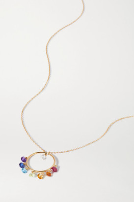 PERSÉE 18-karat Gold Multi-stone Necklace - one size