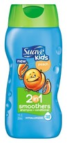 Suave Kids Peach Smoothers 2 in 1 Shampoo + Conditioner - 12 oz