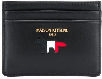 MAISON KITSUNÉ Logo Print Wallet