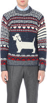 Thom Browne Hector Wool And Mohair-blend Jumper