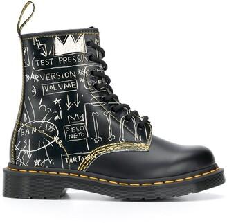 Dr. Martens 1460 Basquiat 35mm ankle boots