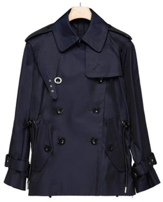 Sacai Double Breasted Trench Coat