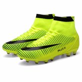 KazmeSports Men's High Ankle High Soccer Cleats Football Shoes / 6.5