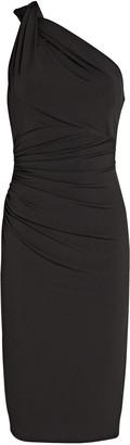 Katie May High Roller One-Shoulder Dress