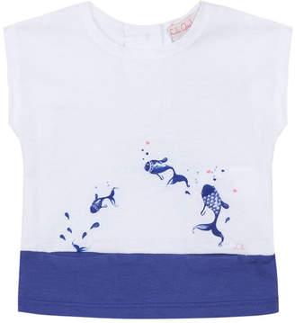 Lili Gaufrette Lavie Fish Slip Pocket T-Shirt