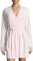 Cosabella Sonia Jersey Lounge Robe, Pink Lilly