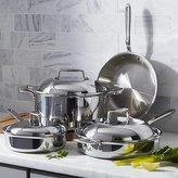 Crate & Barrel All-Clad ® d7 7-Piece Cookware Set with Bonus