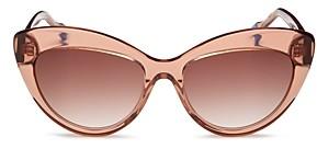 Le Specs Luxe Women's Cat Eye Sunglasses, 57mm