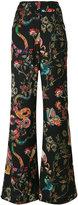 Etro printed palazzo pants - women - Silk/Wool - 40