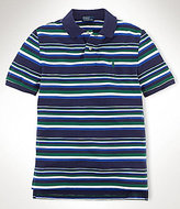 Ralph Lauren 8-20 Striped Mesh Polo