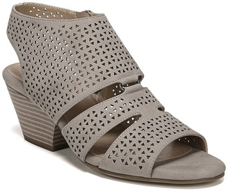 Soul Naturalizer Dez Laser Cut Block Heel Sandal - Wide Width Available