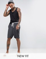Asos Basketball Shorts With Double Waistband
