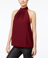 Kensie Draped Halter Top