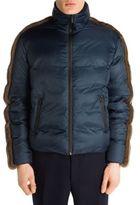 Fendi Mink Fur & Nylon Puffer Coat