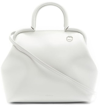 Jil Sander Top-handle Medium Leather Bag - Grey