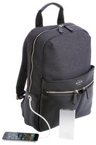 Royce Leather Power Bank Charging Backpack