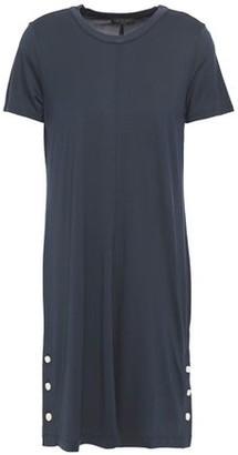 Rag & Bone Allegra Button-detailed Jersey Mini Dress