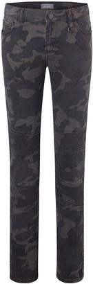 DL1961 Boy's Zane Camo Super Skinny Denim Jeans, Size 8-16
