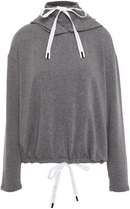 Stateside Melange Modal-blend Fleece Hoodie
