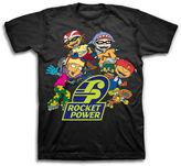 Novelty T-Shirts Rocket Power Short-Sleeve Cotton Tee