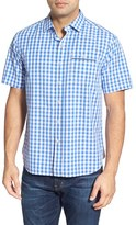 Tommy Bahama 'Check Norris' Island Modern Fit Sport Shirt
